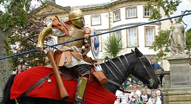 Sewerby Hall events - Jousting